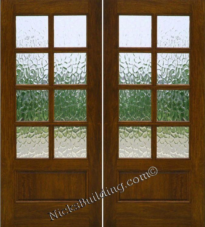 Exterior Patio Doors Solid Mahogany French Doors Front Door