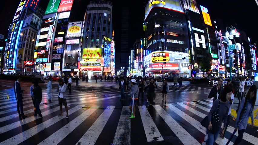 TOKYO JAPAN - DECEMBER 2007: Night view of a popular area in Tokyo called Akihabara where you can find all types of electronics. Description from shutterstock.com. I searched for this on bing.com/images