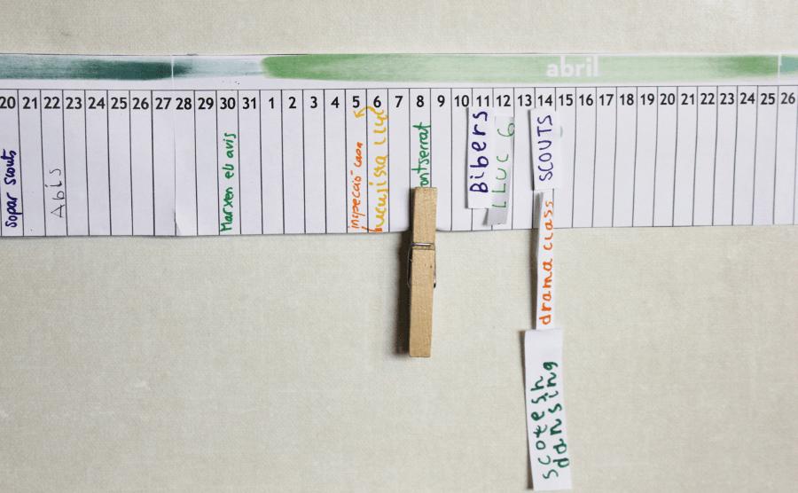 Calendario Lineal.Imprimible Gratuito Calendario Lineal Anual Perfecto Para