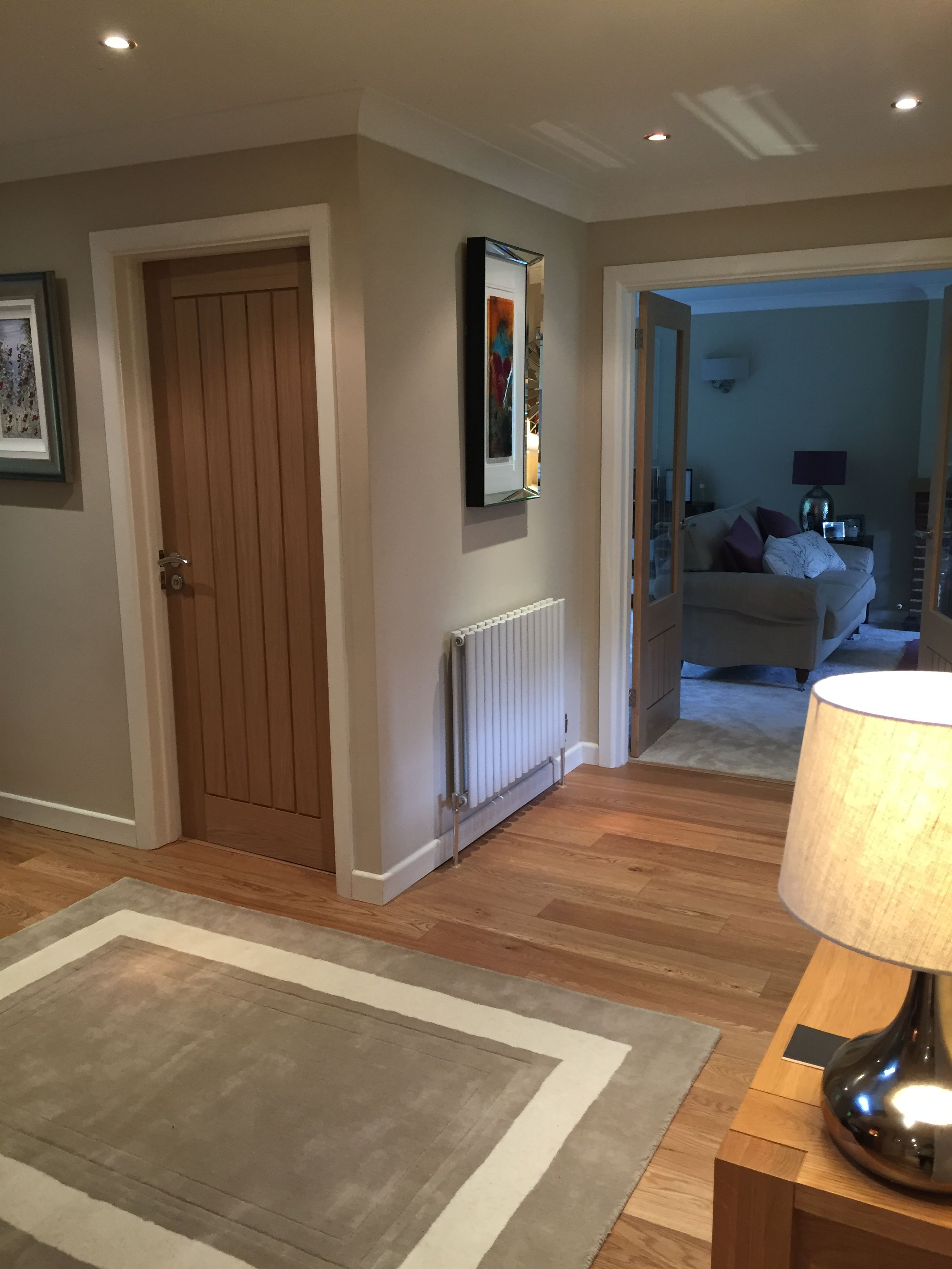 Hall farrow and ball joas white paint accessories laura - Dimity farrow and ball living room ...