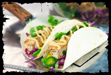 Garbo's Grill / Sinz Taco's - The Menu