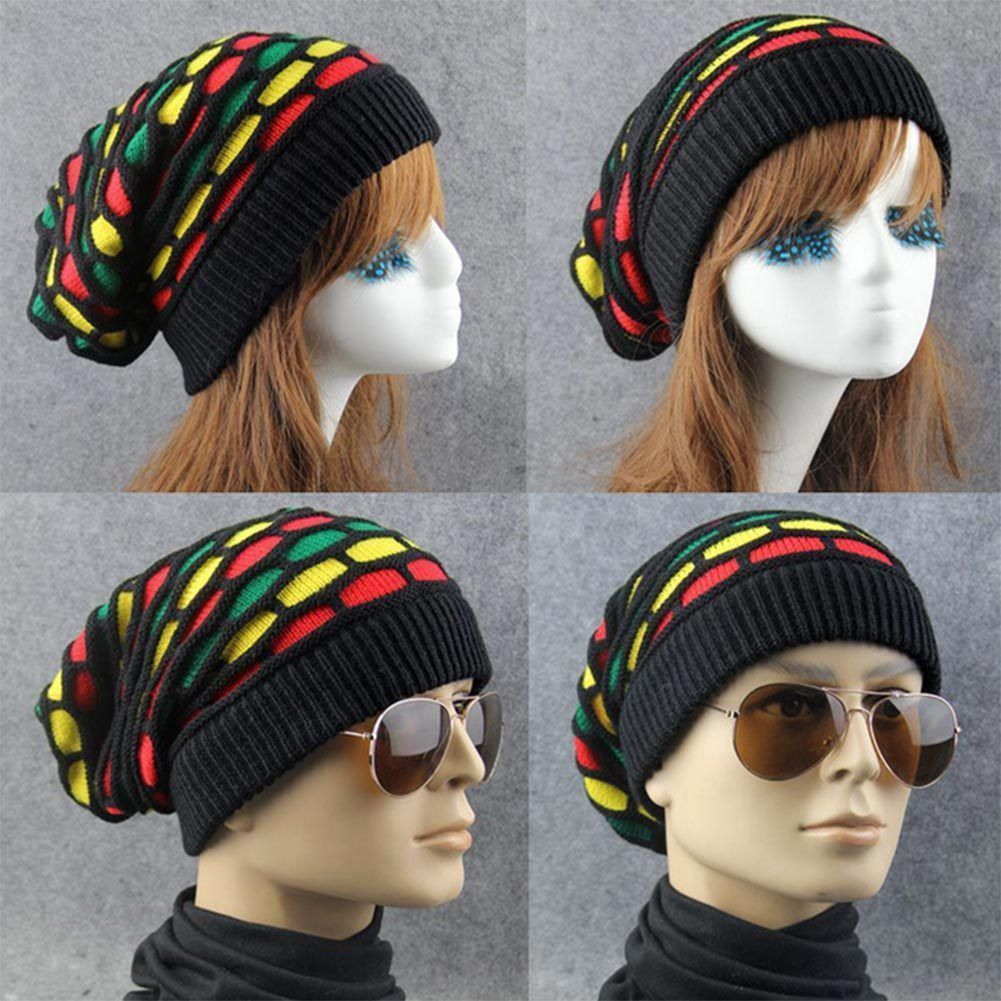 d8269e14c Woman Man Unisex Oversized Slouch Pull On Knitted Beanie Cap HipHop ...