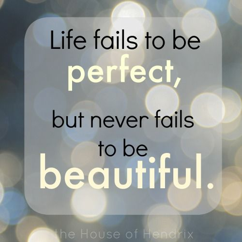 Life Is Beautiful Perfection Quotes Cool Words Wonderful Words