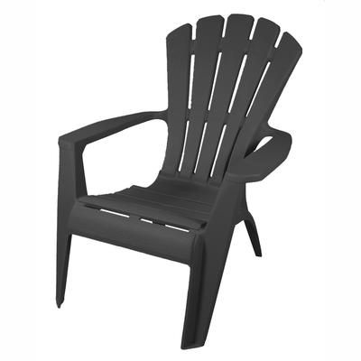 Gracious Living Grey Adirondack Chair 11483 26 Home Depot