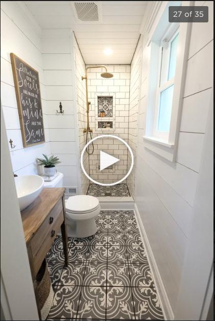 Kleine Badkamer Ideeen In 2020 Small Bathroom Inspiration Small Bathroom Small Bathroom Makeover