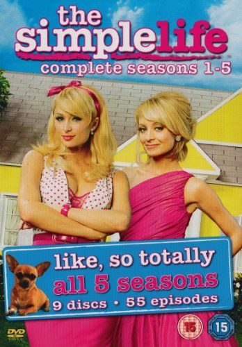 The Simple Life Complete Seasons 1 5 Dvd Amazon Co Uk Paris Hilton Nicole Ritchie Film Tv Simple Life Kids Tv Paris And Nicole
