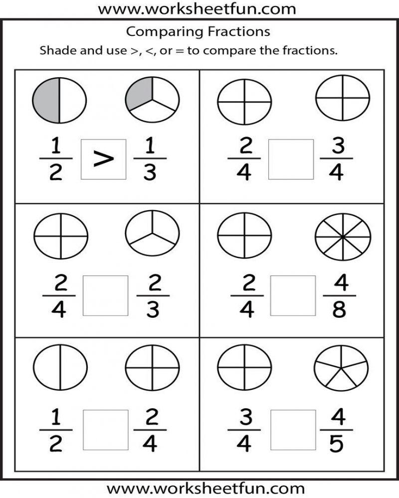 Free Printable Math Worksheets 2nd Grade Fractions Math Fractions Worksheets Free Printable Math Worksheets 2nd Grade Math Worksheets Fraction addition worksheets grade