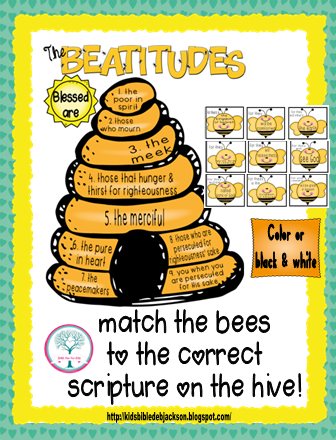 Beatitude Crafts and Activities for Sunday School from www ...