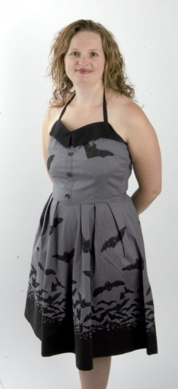 A Batty Halloween Themed Dress No Costume Needed Shop These And Other Spooky