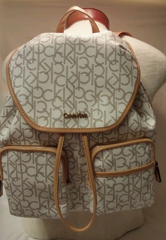 5c212c9902 $260 NEW CALVIN KLEIN Backpack Luggage CK Logo Travel Bag #CalvinKlein # Backpack