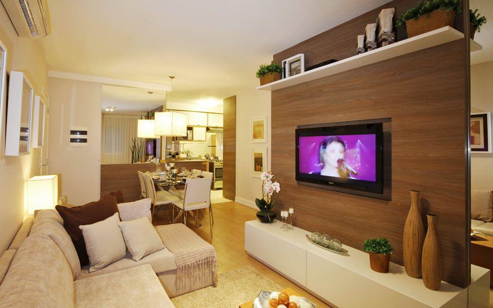 Melhor Tv Para Sala Pequena ~ da sala de tv decoração sala jantar pequena painel tv painel sala