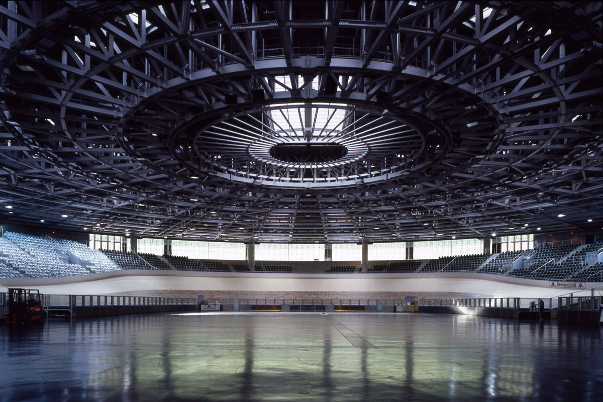 Velodrome and olympic swimming pool velodrome pinterest olympic swimming architectural - Olympic swimming pool ...