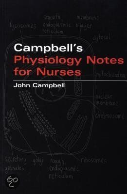 Bolcom Campbells Physiology Notes For Nurses Ebook Adobe Pdf
