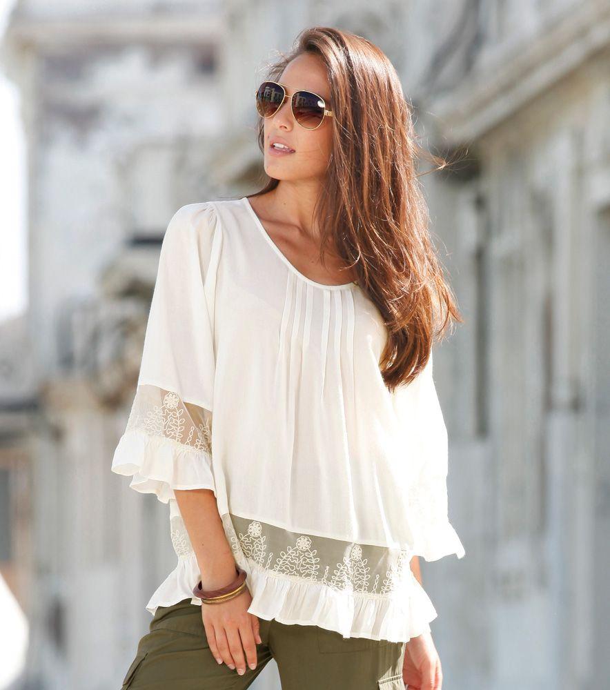 blusas de moda para mujer ms