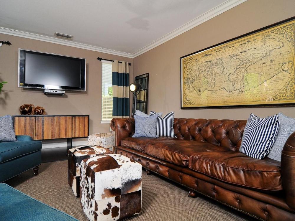 30+ Masculine Living Room Ideas & Inspirations | Man of ...