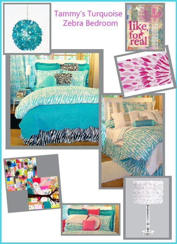 Teen Bedding Sets Teal Turquoise Aqua Desiger Grils