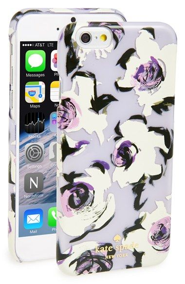new products 5eadb 8914d kate spade new york 'romantic floral' iPhone 6 case available at ...