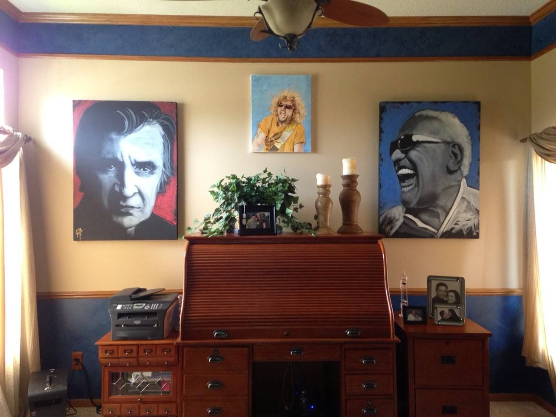 My Nephew Aaron Hagars Office So Creative His Dad Sammy Hagar The Middle So Creative Sammy Hagar Music Art