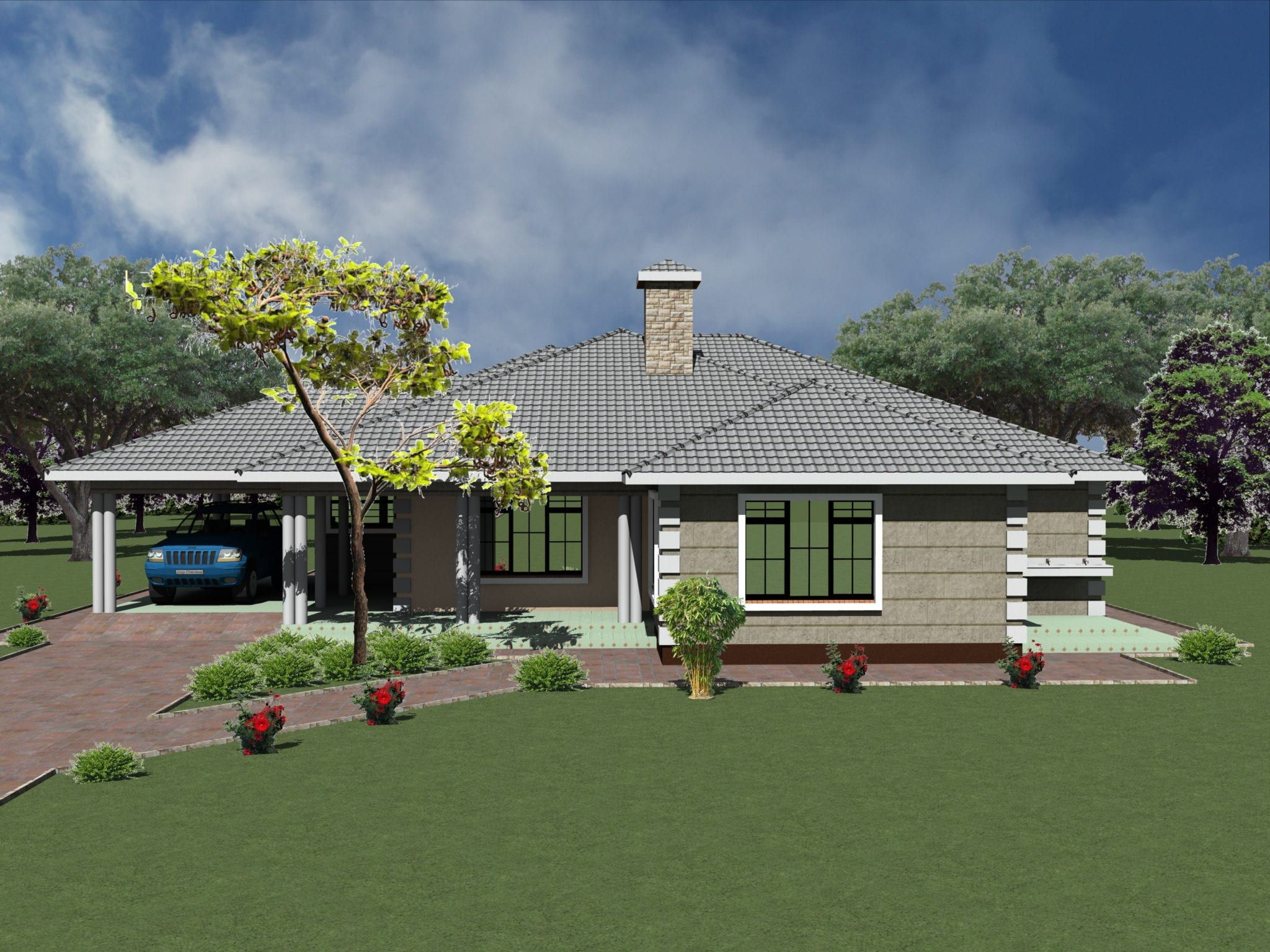 Pin on Bungalow house design