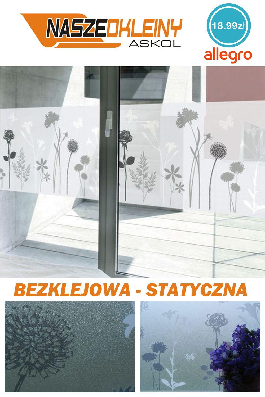 Folia Okienna Statyczna Witraz Wiosna 45x150 G29 Home Decor Decor Home Decor Decals
