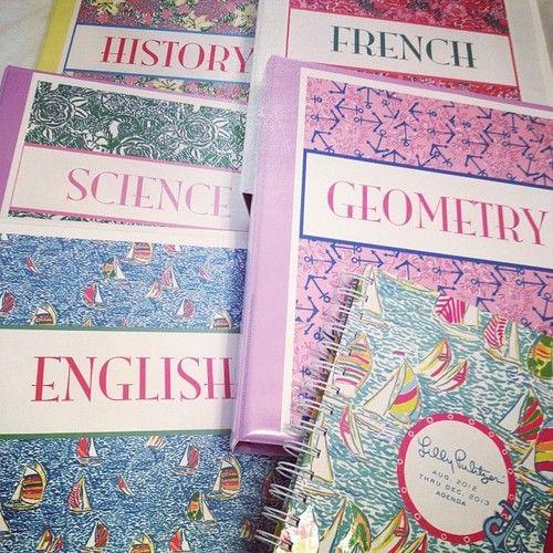 School Essentials, Preppy Binder
