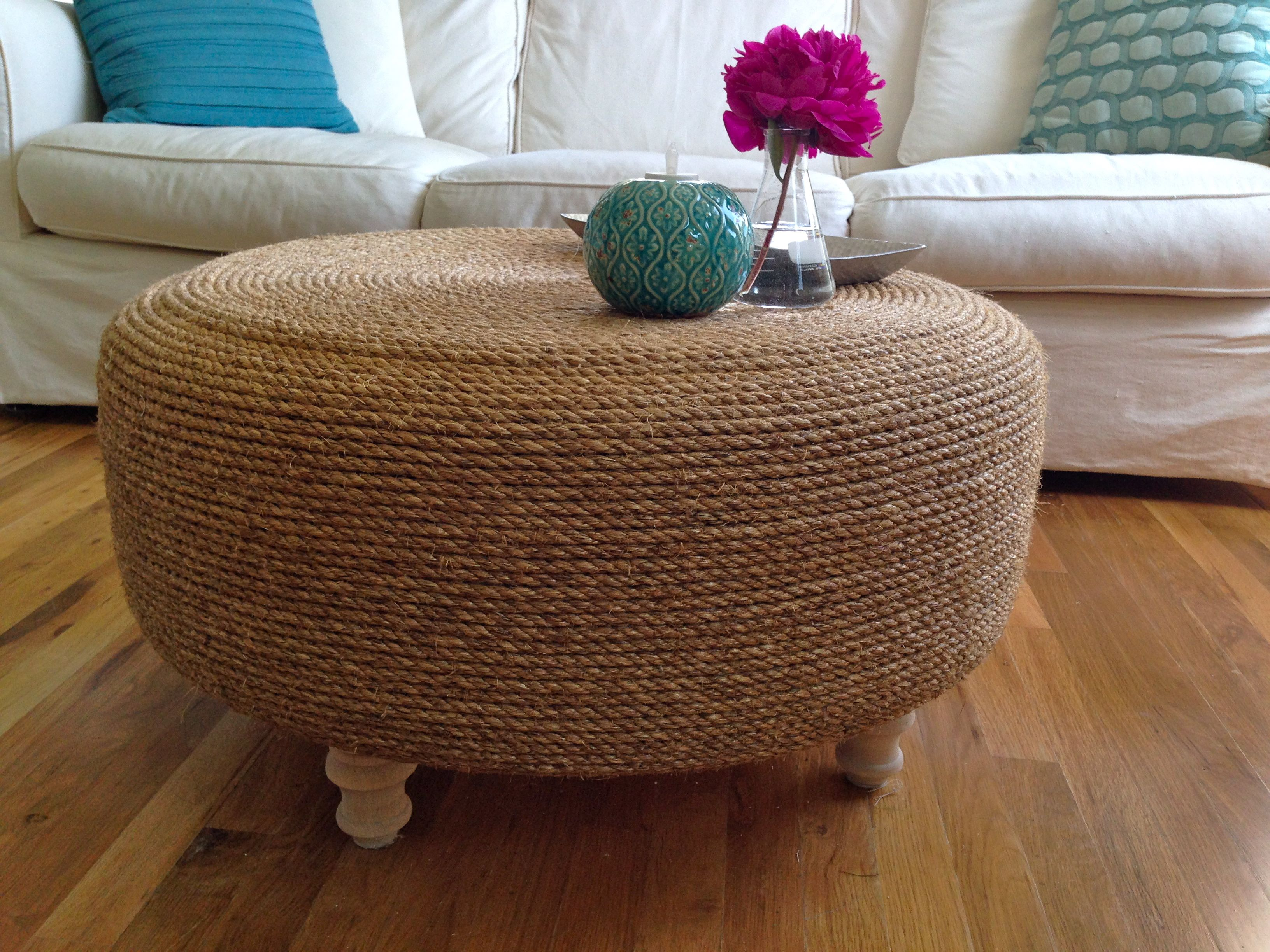 Rope Coffee Table Diy Rascalartsnyc