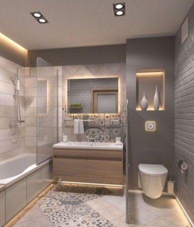 49 Awesome Small Bathroom Design Ideas Small Master Bathroom Small Bathroom Styles Bathroom Remodel Master
