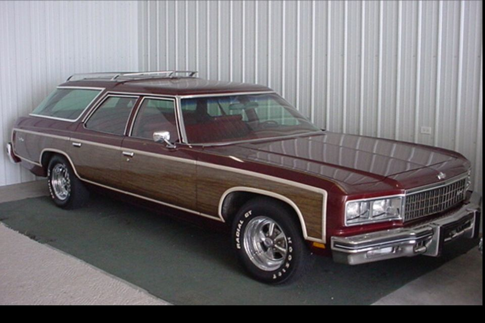 1976 Chevy Caprice Wagon My First Car With The Kiddies Third Row