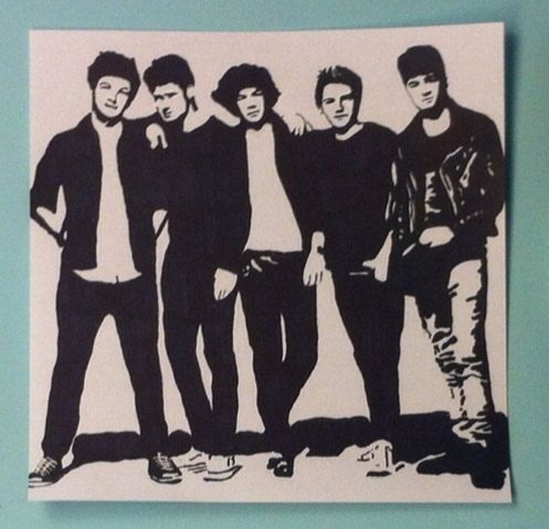 One Direction Pop Art by samonstage on Etsy, $5.00 | 1D ...