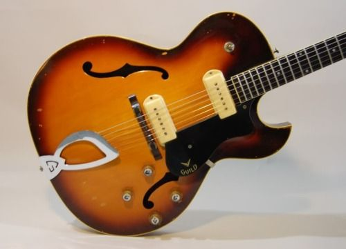 guild t 100 early model 1950s 60s string driven things guild guitars archtop guitar. Black Bedroom Furniture Sets. Home Design Ideas