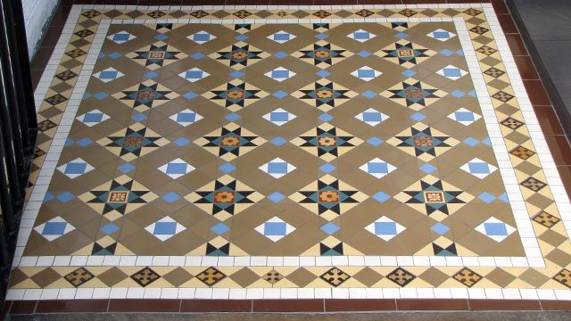 Tile · Gallery Of Tile Installations | Photos Of Victorian Floor Tiles ...