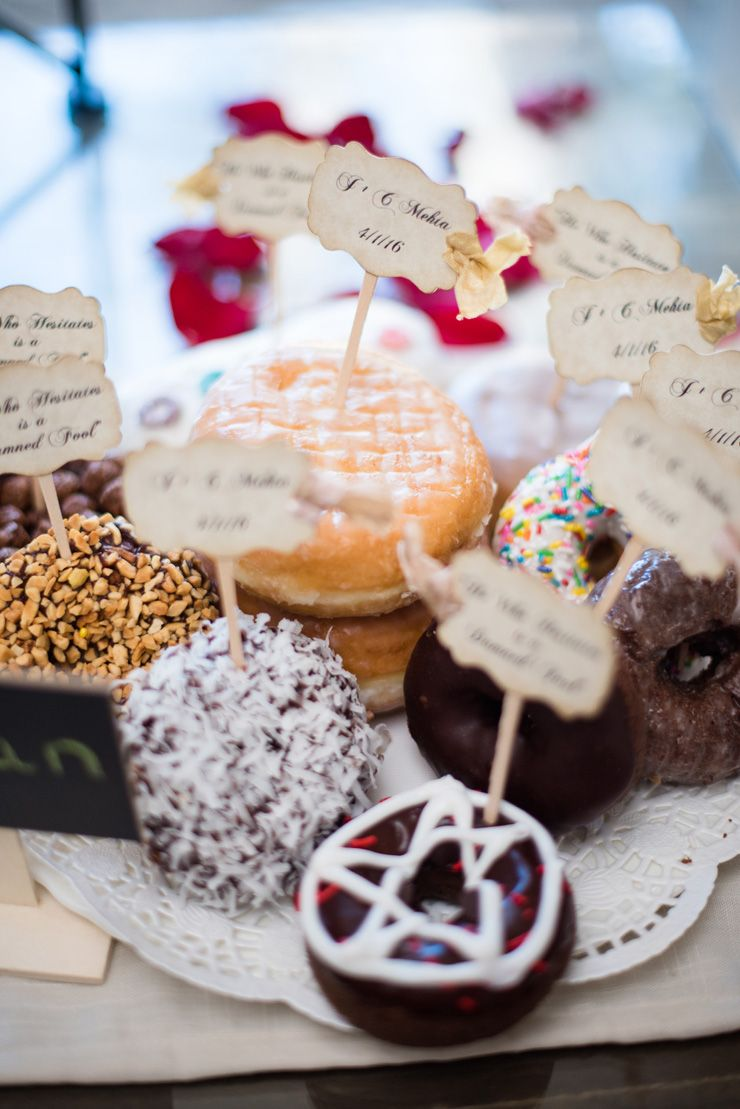 Wedding donuts | itakeyou.co.uk