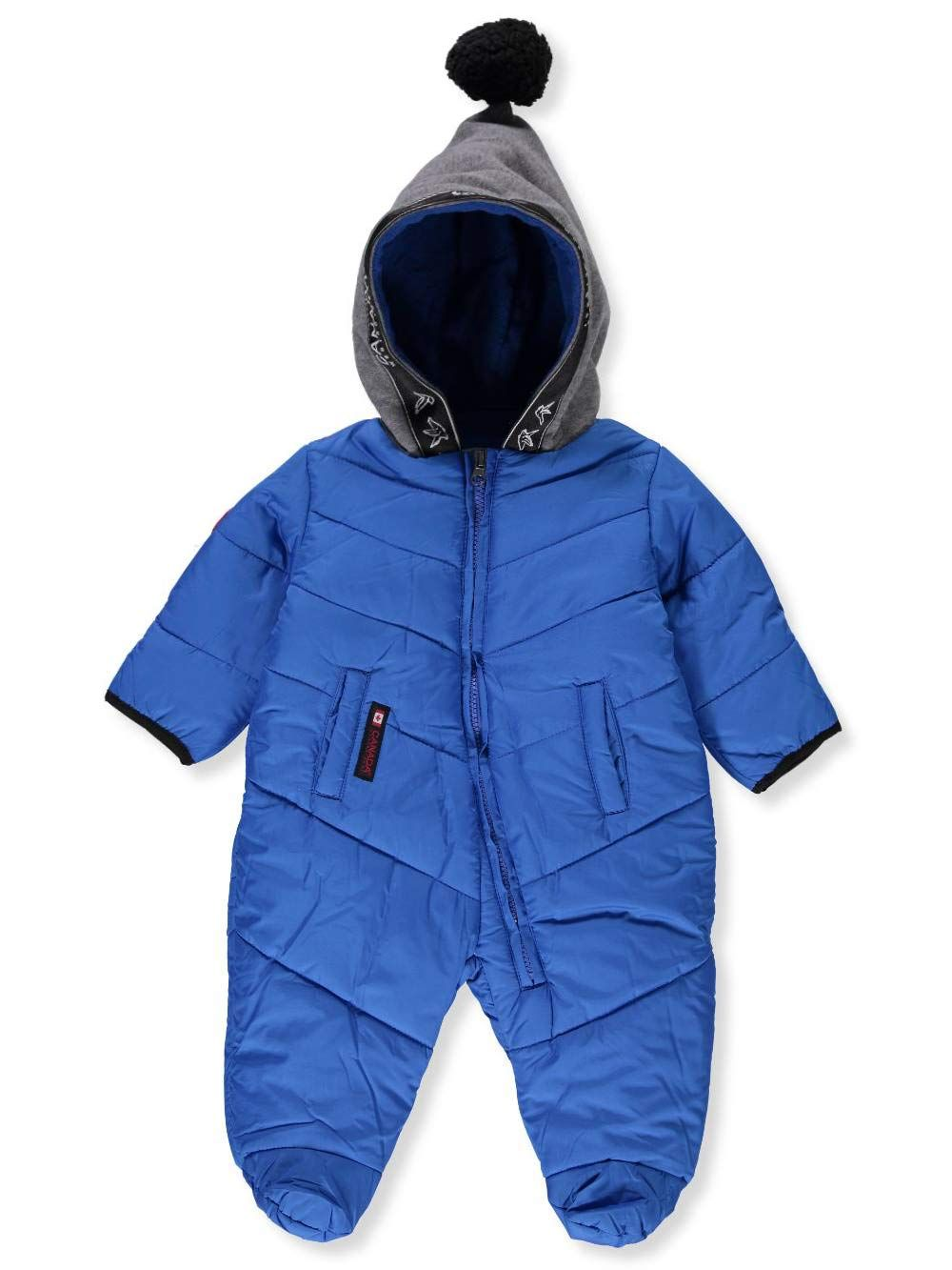 Canada Weather Gear Baby Boys 1piece Snowsuit Blue 36 Months Want Extra Info Click On The Picture This Is Baby Boy Outfits Kids Fashion Boy Baby Clothes