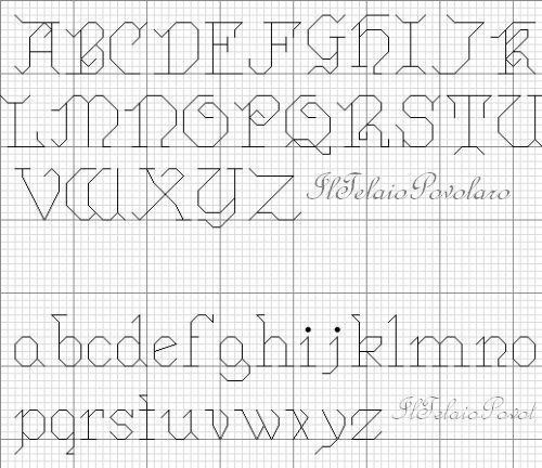 Pin di rita meijer su ringkussentjes alfabeto ponto cruz for Ricamo punto croce alfabeto