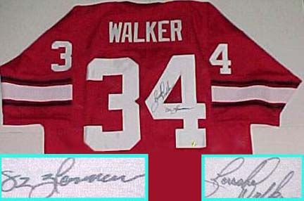 reputable site 30a3a 4175e Herschel Walker Signatures | Sports, Football | Herschel ...