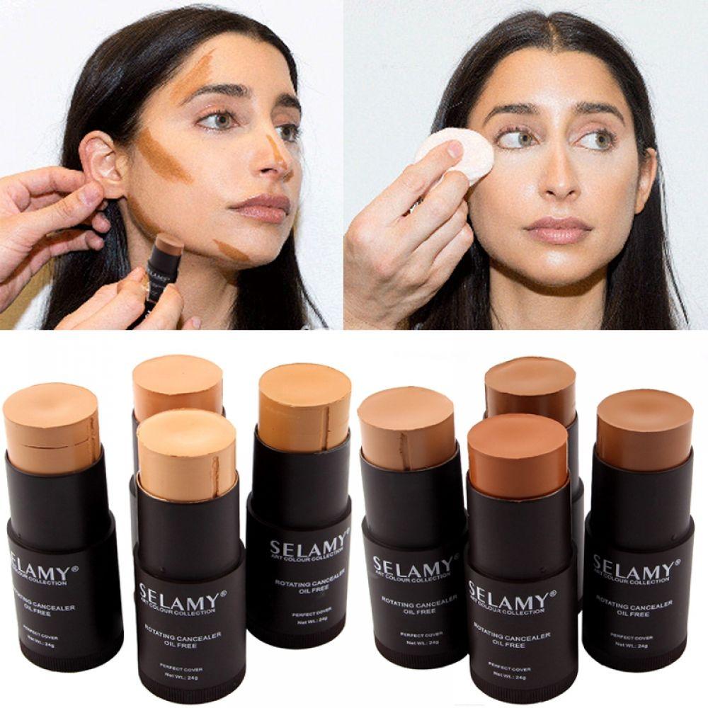 1pcs Foundation Makeup Full Cover Contour Face Concealer