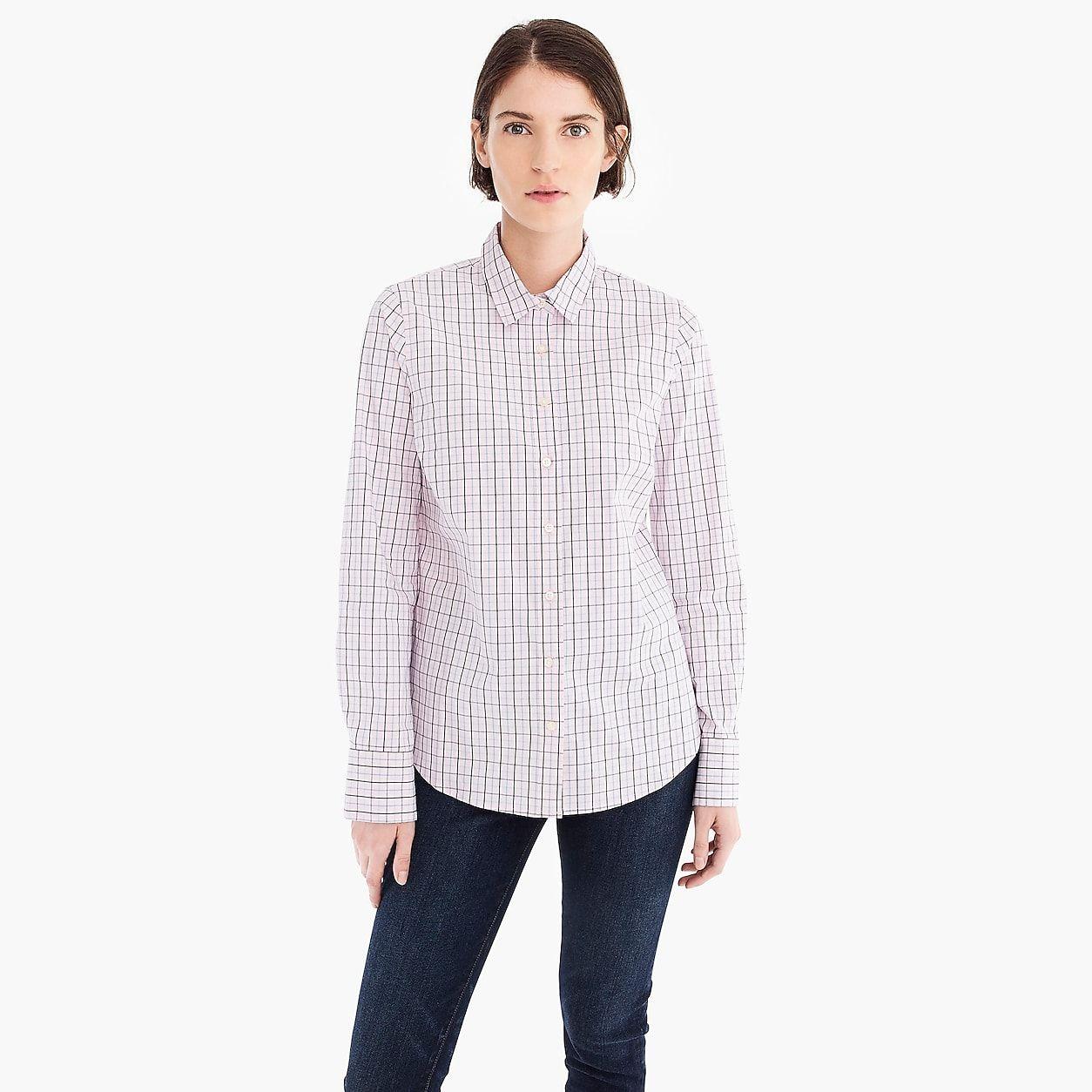 3f7036f873b Slim Stretch Perfect Shirt In Meyer Tattersall in 2018