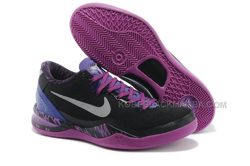 in stock ed438 19821 ... top quality buy nike kobe 8 pp black electric purple grey for wholesale  shoes store sell