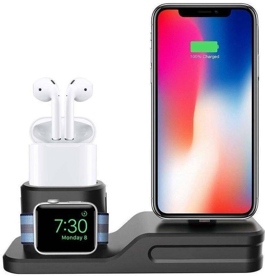 3-IN-1 Charging Dock for Iphone, Apple Watch, Earpods deals hot