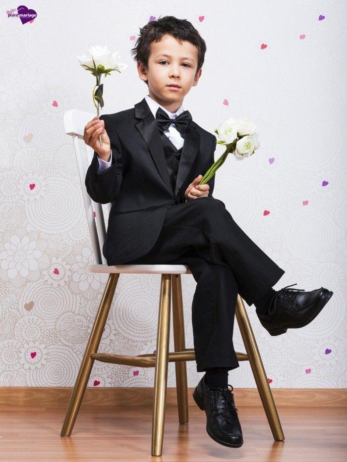 59b6b8fde8c3 Tenue de mariage enfant pour produire un grand effet