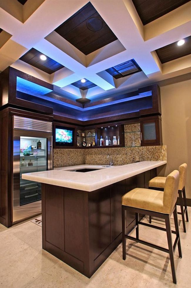 20 Modern Home Bar Designs For Your Home ManCave Pinterest Bar