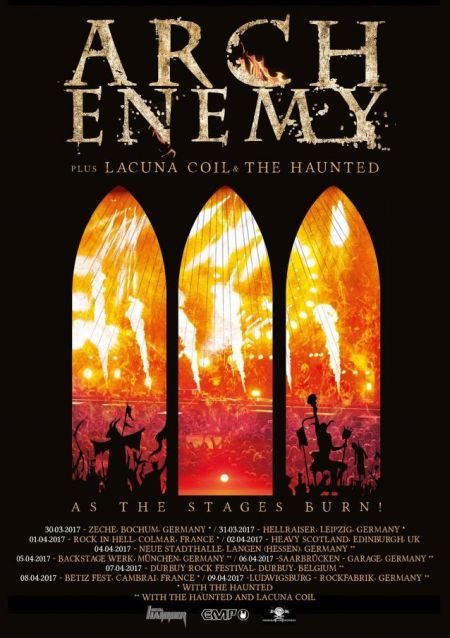 Arch Enemy To Release Live Dvd As The Stages Burn Arch Enemy Full Movies Online Free Streaming Movies Free
