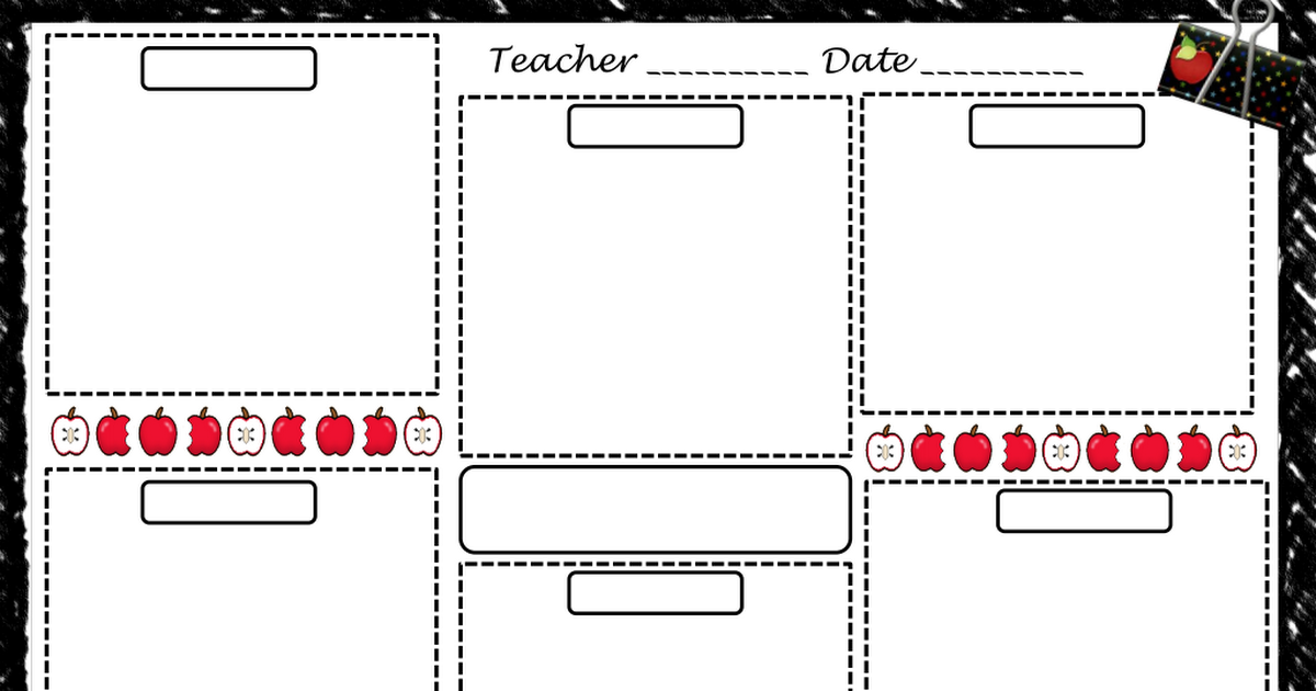 free lesson plan template.pdf Lesson plan templates