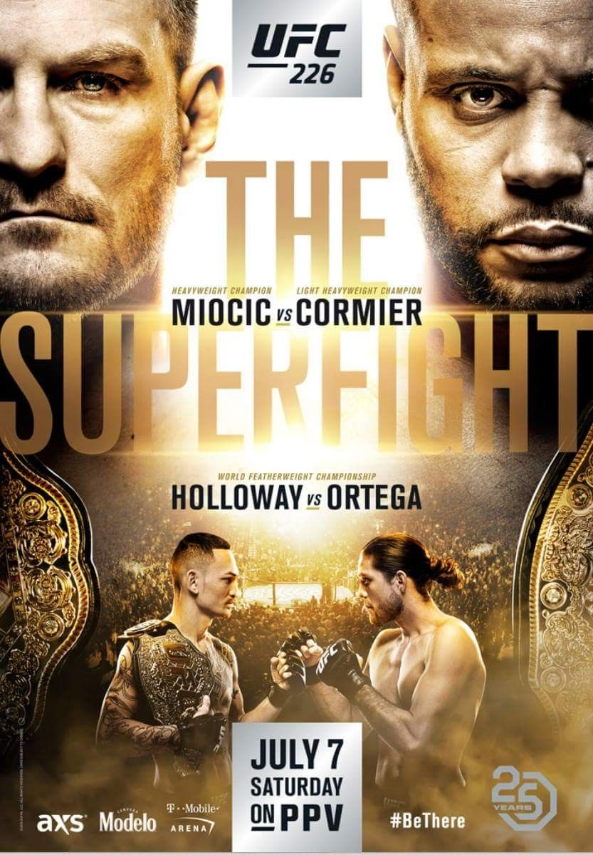 UFC 209 Tyron Woodley vs.Stephen Thompson PHOTO Print POSTER Las Vegas 2017 MMA