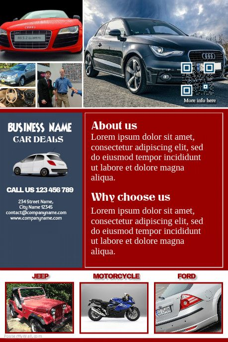 Pin By Hailp ⛄️ On Car Dealer Flyer Diy Marketing