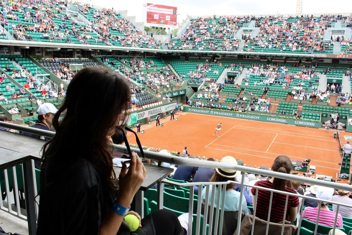 Roland Garros 2014: When Life gets too hard Play Tennis