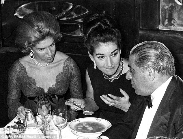 Tapeworm Raw Eggs 8000 Calorie Sandwiches Extreme Hollywood Diets Maria Callas Aristotle Onassis Hollywood