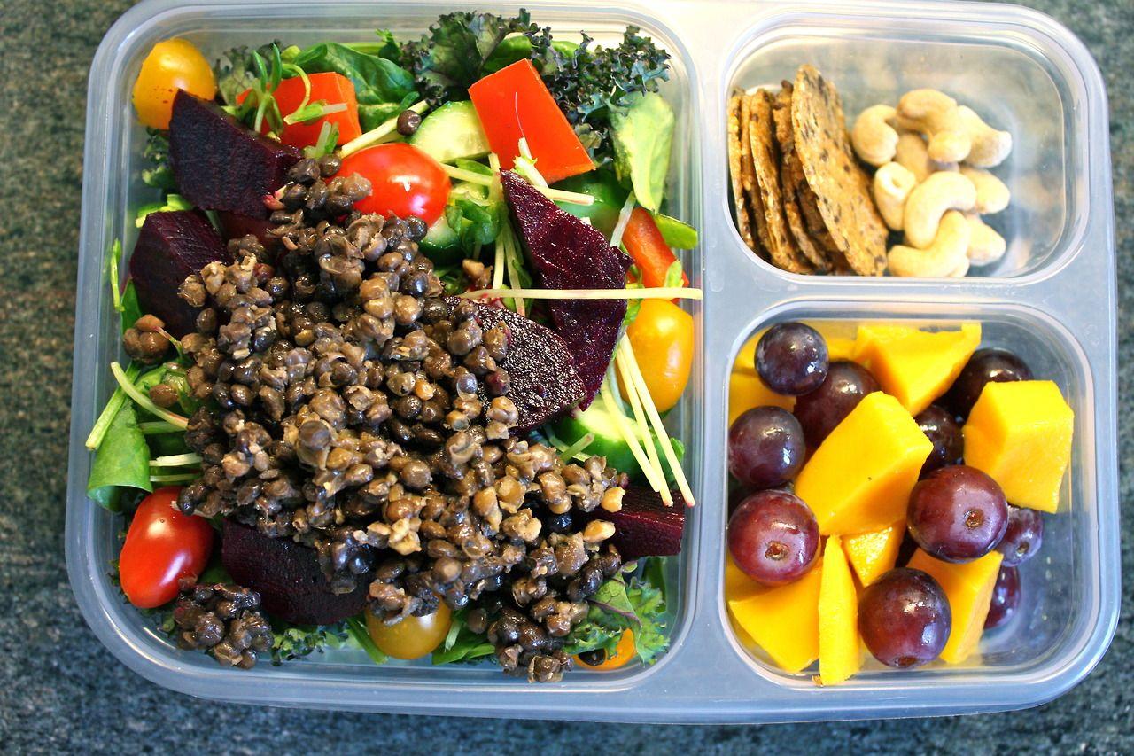 Take and Eat Salad + Snacks