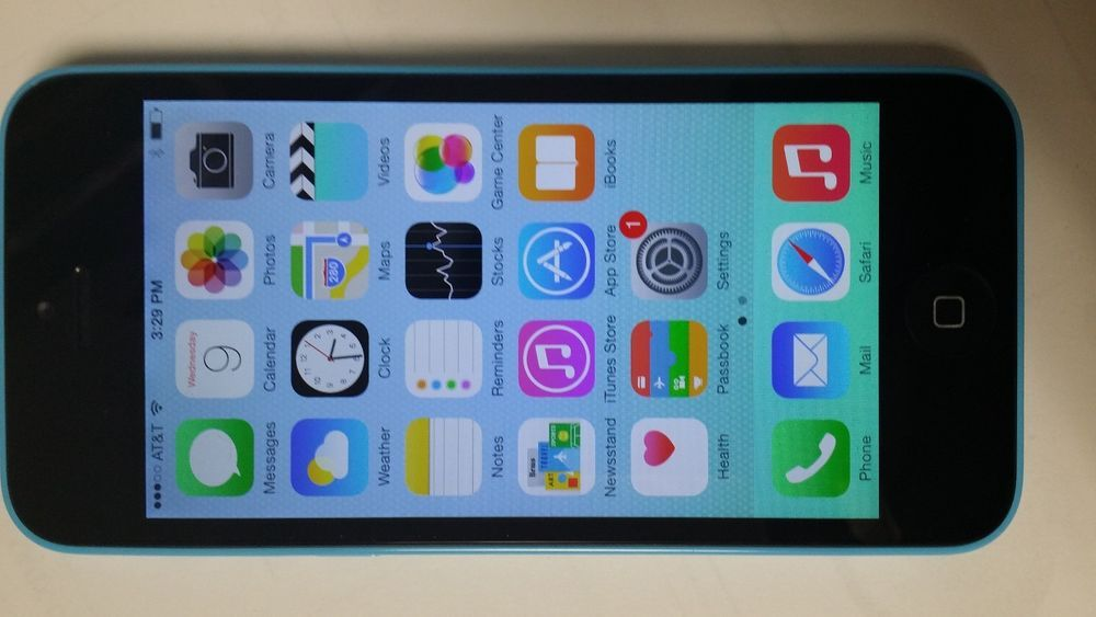 Apple Iphone 5C Model ME557LL/A Verizon/Global GSM Unlocked 16Gb (Blue edition) #Apple