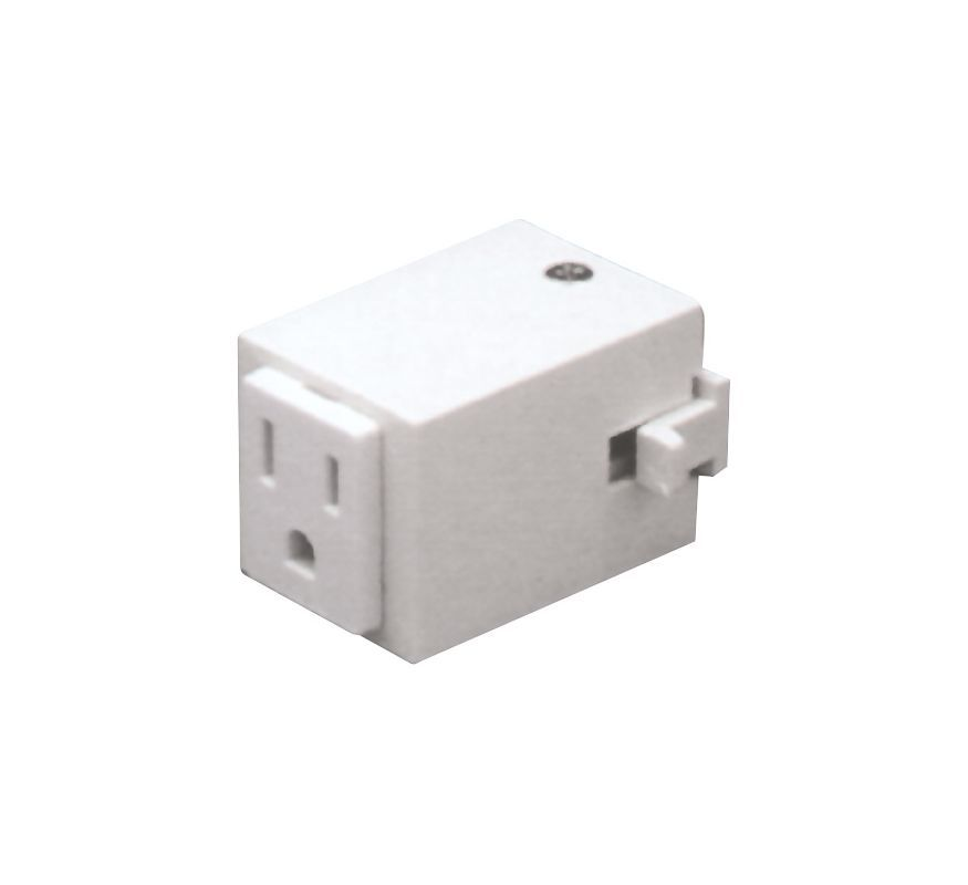 Elco Ep814 Outlet Adapter White Indoor Lighting Track Accessories
